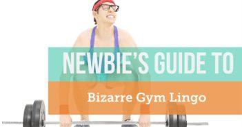 gym slang, gym jargon