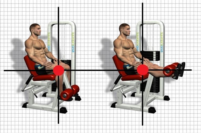 Machine Exercises - Body Positioning