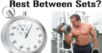 rest time between two sets and two exercises