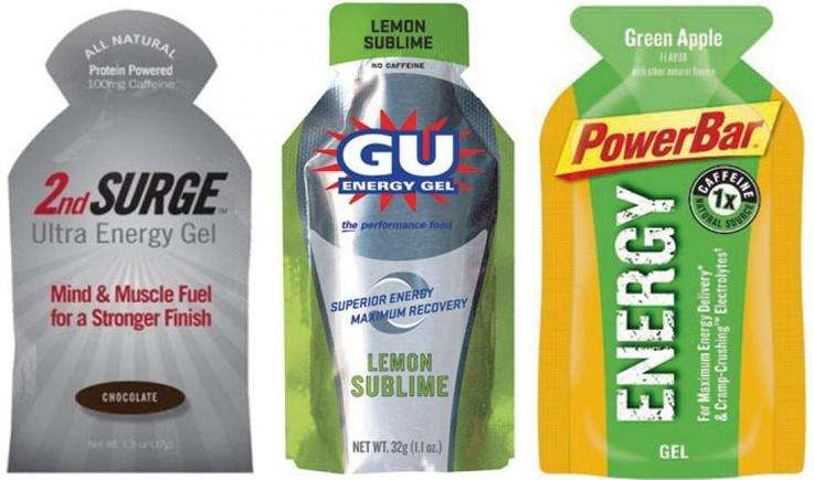 energy gels for runners