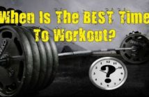 best time of the day to lift weights