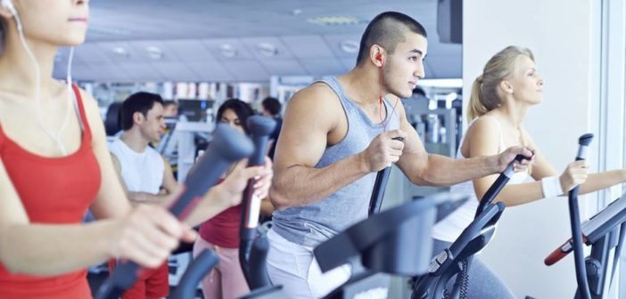 cardio training elliptical machines