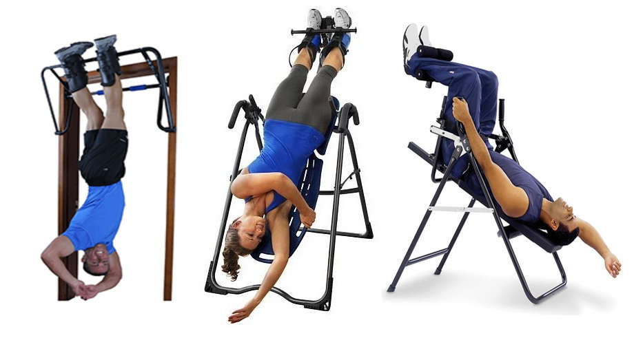 inversion boots, inversion table, inversion chair