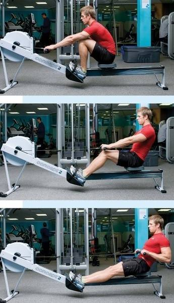 proper indoor rowing technique