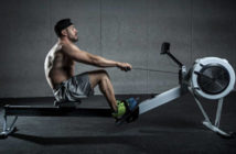 rowing ergometer - cardio workout
