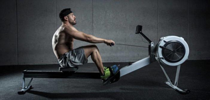 rowing ergometer - cardio workout