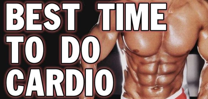 best time to do cardio when lifting weights