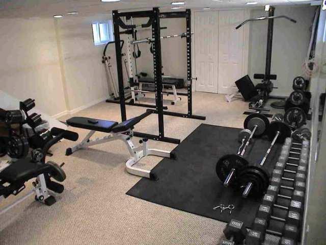Home gym ideas garage gym