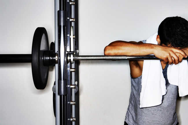 how to recognize overtraining