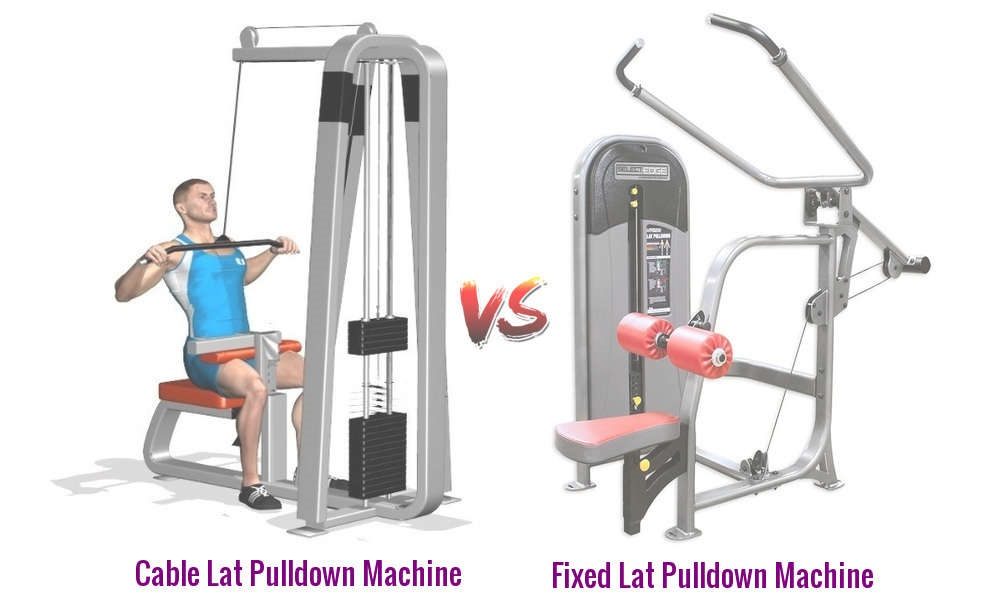 Different Types of Lat Pulldown Machines