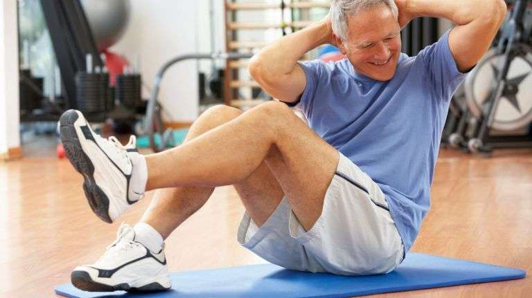 weight training for older people