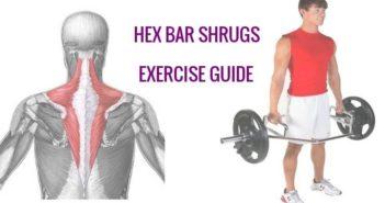 trap bar shrug exercise instructions