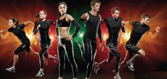 Compression garments for weight training