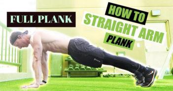 full plank: core strengthening