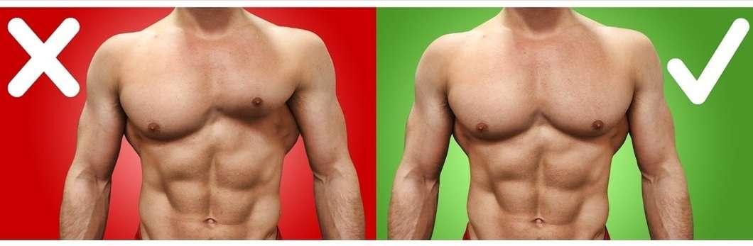 Uneven chest muscles