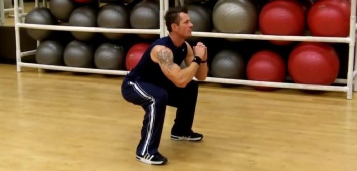 instructions for bodyweight squats