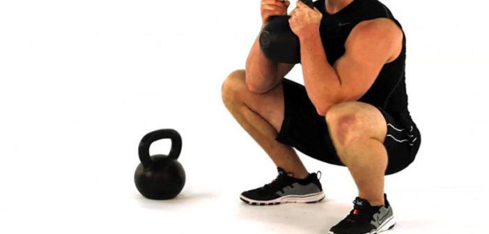 goblet squat for quadriceps