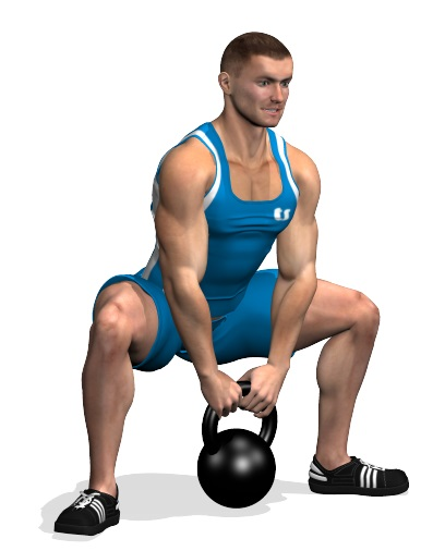 kettlebell sumo squat exercise guide