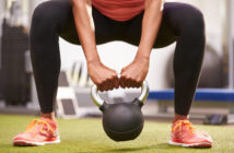 sumo kettlebell squat leg exercise