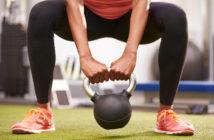 sumo kettlebell squat leg exercise