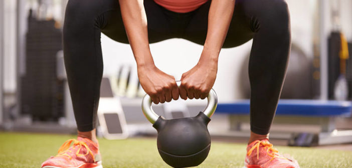 Kettlebell Sumo Squat: Squatting With Wide Stance