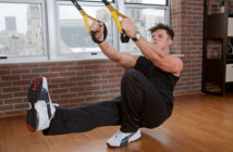 trx suspension pistol squats