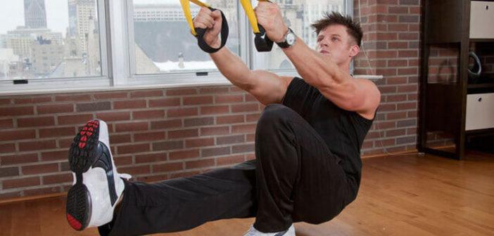 Suspension Trainer Assisted Pistol Squat