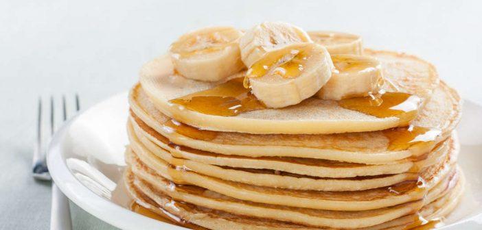 banana pancakes protein breakfast