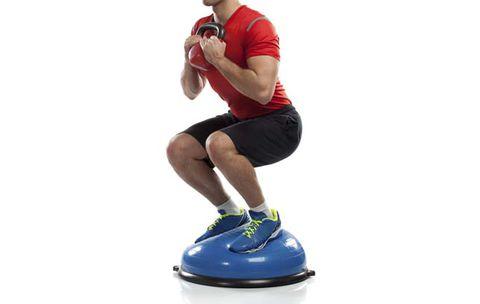 bosu ball stability exercises