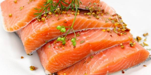 Fish rich in omega 3