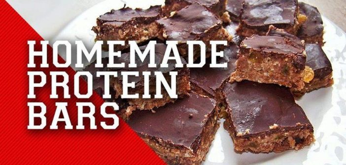 homemade protein bars benefits