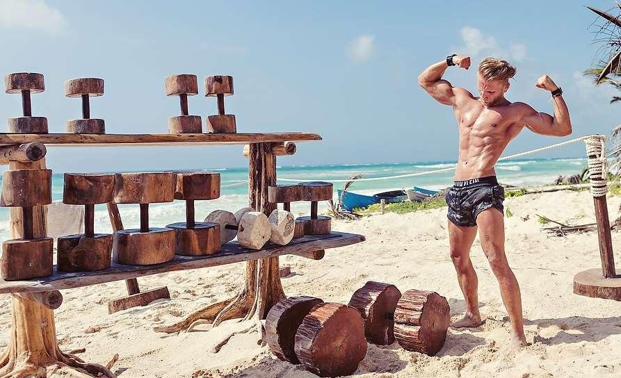 Tulum Jungle Gym World S Best Beach Gym Bodybuilding Wizard