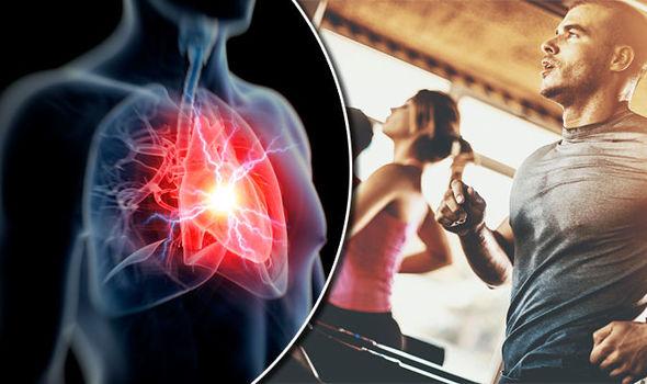 معدل ضربات القلب أثناء ممارسة الرياضة