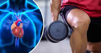 Heart benefits from weightlifting