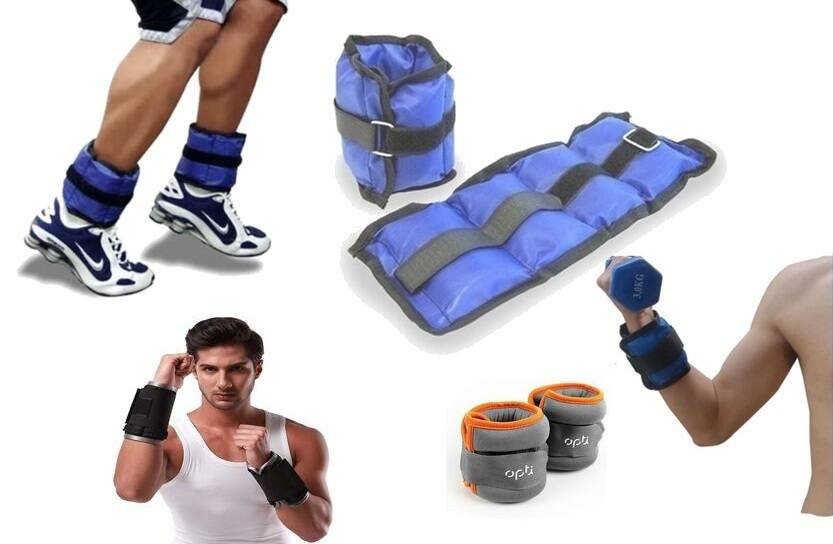 ankle and wrist weights - training equipment
