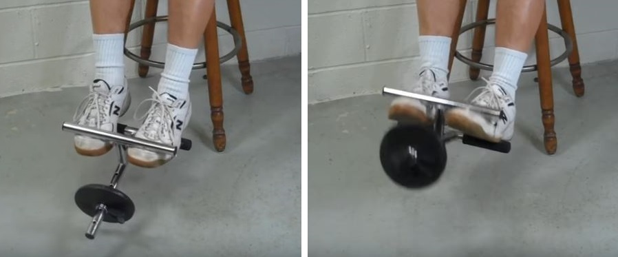 dynamic axial resistance device raises