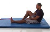 resistance band dorsiflexion exercise guide