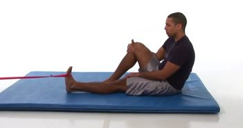 resistance band dorsiflexion exercise guide