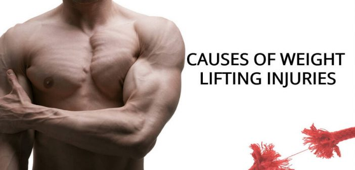 causes of weight lifting injuries