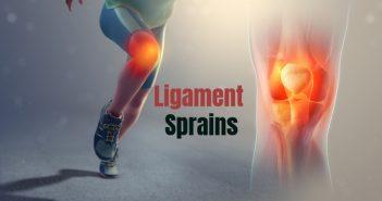 ligament sprains tear