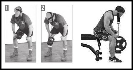 neck harness exercise