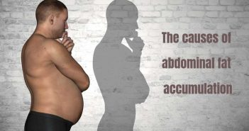 causes of abdominal fat accumulation