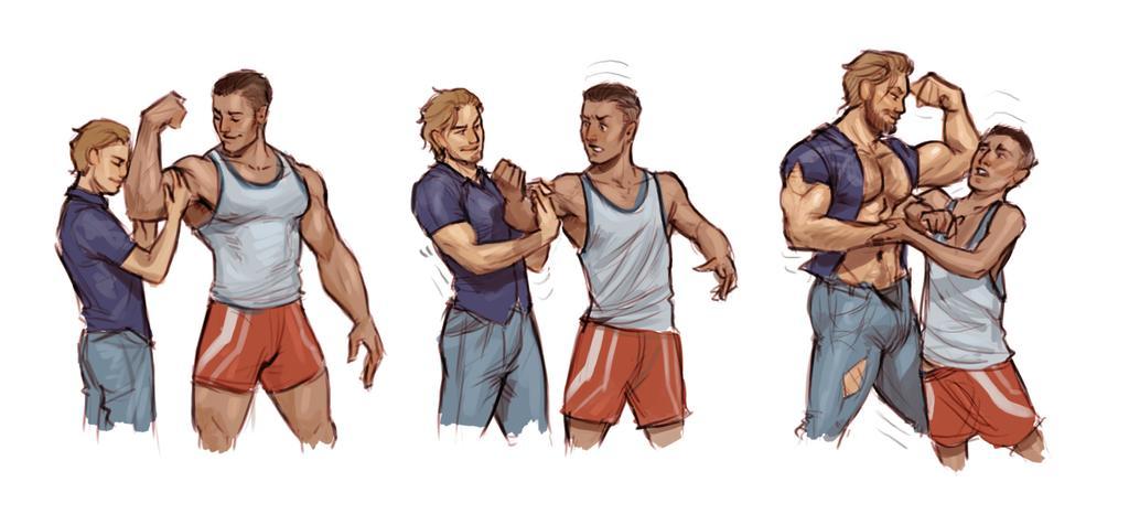 muscular hypertrophy process