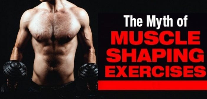 Can we change the shape of our muscles?