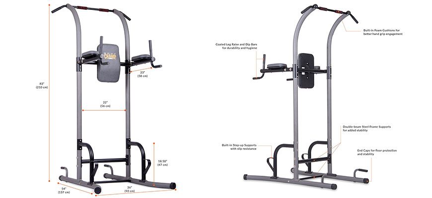 power tower fitness station - best features