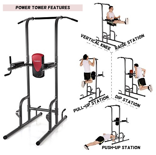 power tower fitness station for home fitness