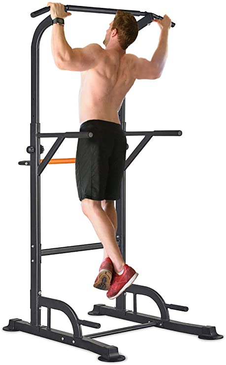 power tower pull ups exercise