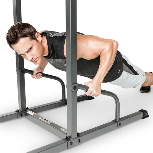 Power tower incline push-ups (press-ups)