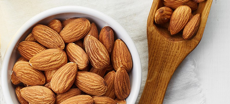 almonds and bodybuilding