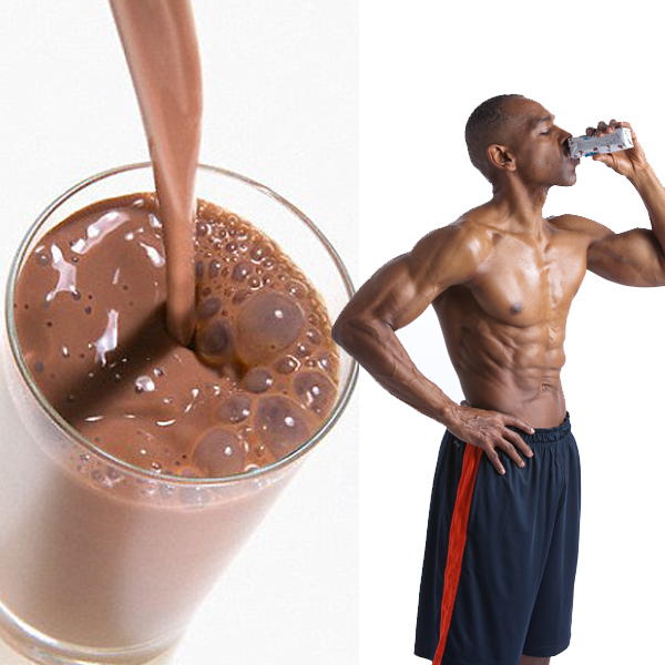 chocolate milk and bodybuilding - boost recovery